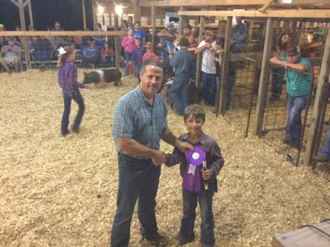 CES Student Wins Big at the VBC Fair