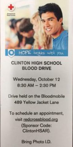 Blood Drive Approaching