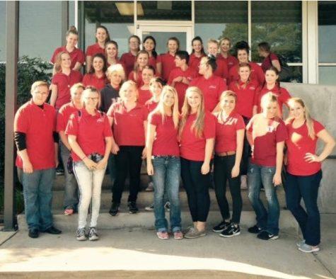 FCCLA Volunteers at Arkansas Food Bank