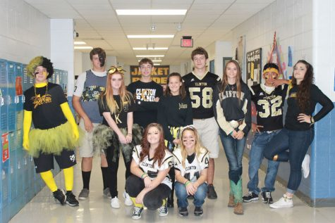 Black and Gold Day CHS