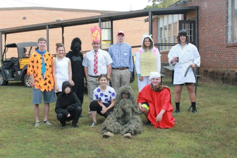 Character Day at CHS