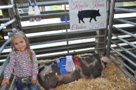 Pre-K Student Wins at District Fair