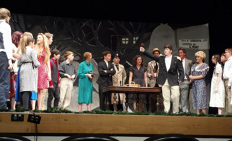 CHS production of It's a Wonderful Life