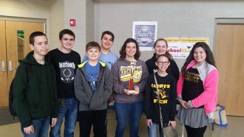 CJHS Quiz Bowl Advances to State