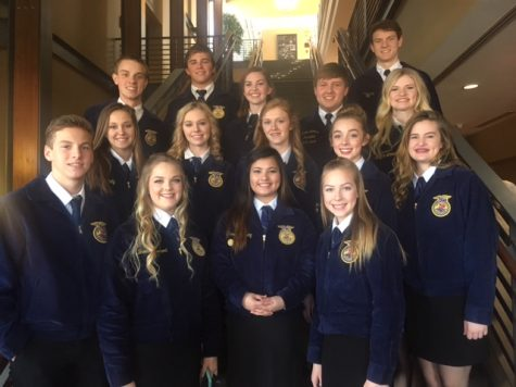 FFA Teams Advance to District