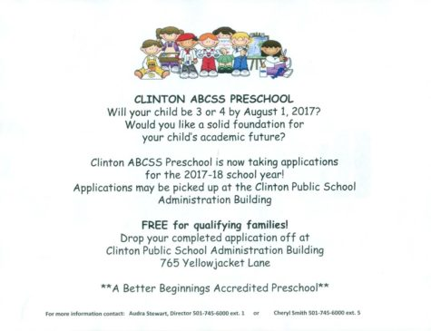 Clinton ABCSS Preschool Enrolling Now