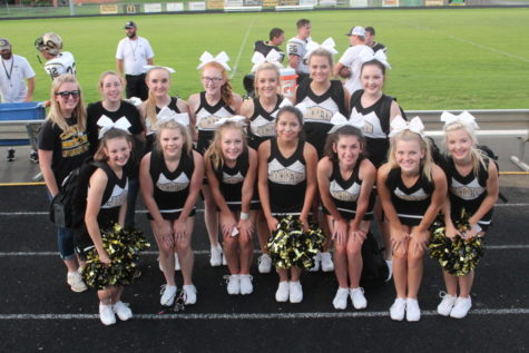 Black and Gold Game Cheer