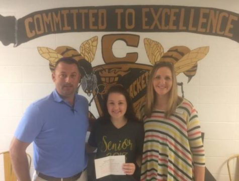 Savannah Lynch CHS Student of the Month