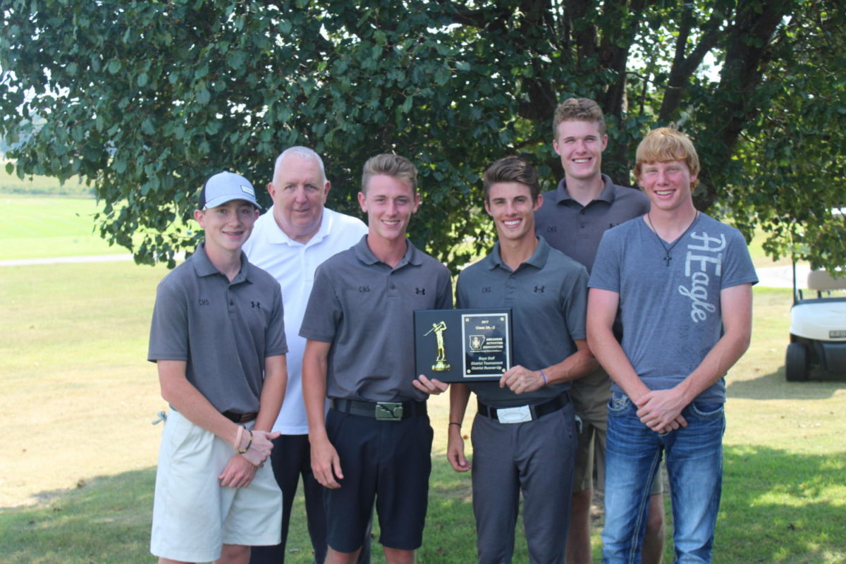 CHS+Golf+Finishes+2nd+in+District