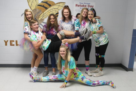 Homecoming Week Tie Dye Day