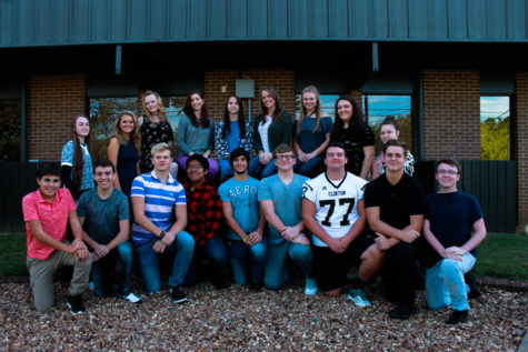 2017 Homecoming Court