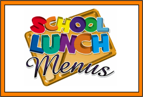 December 18th- December 20th Lunch Menus