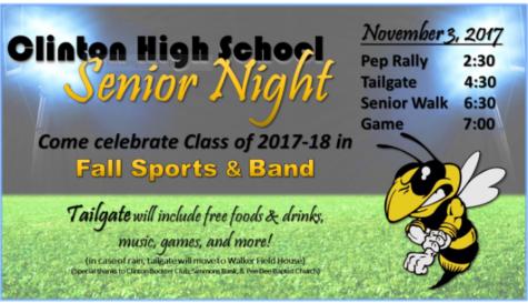 CHS Fall Sports & Band Senior Night