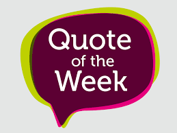 Quote of the Week January