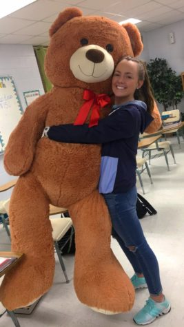 Beta Club Raffles GIANT Bear!