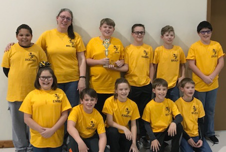 Elementary Quiz Bowl Team takes 2nd place at Regionals
