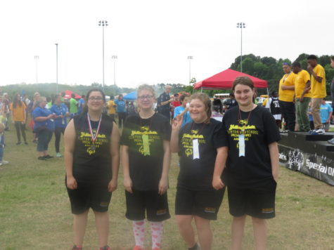 Clinton Students Bring Home Gold in Special Olympics!