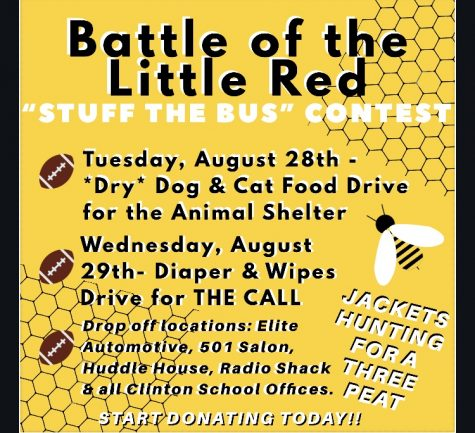 Battle of the Little Red Stuff the Bus