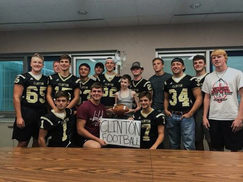 Clinton Football to Host Steak Out