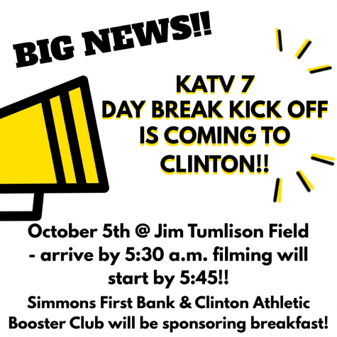 Channel 7 Daybreak KickOff Coming to Clinton