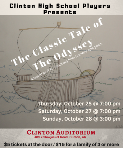 Clinton Drama Presents The Odyssey