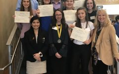 Clinton FBLA Successful at District Competition
