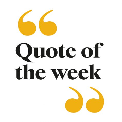 Quote of the Week January 28-February 1