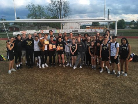 Jackets Find Success at Track