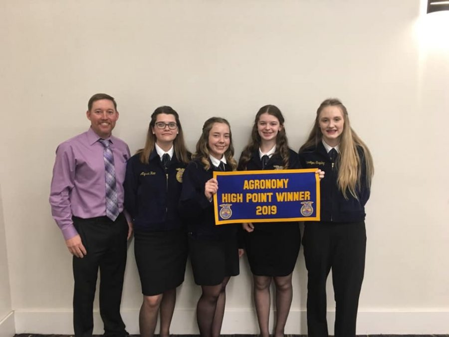 Clinton FFA State Success