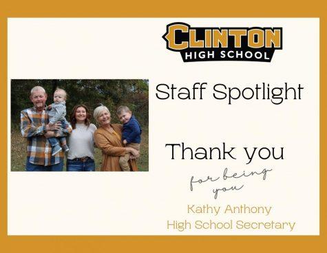 Staff Spotlight: Kathy Anthony