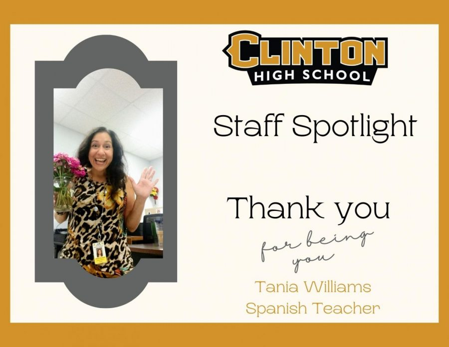 Staff Spotlight: Tania Williams